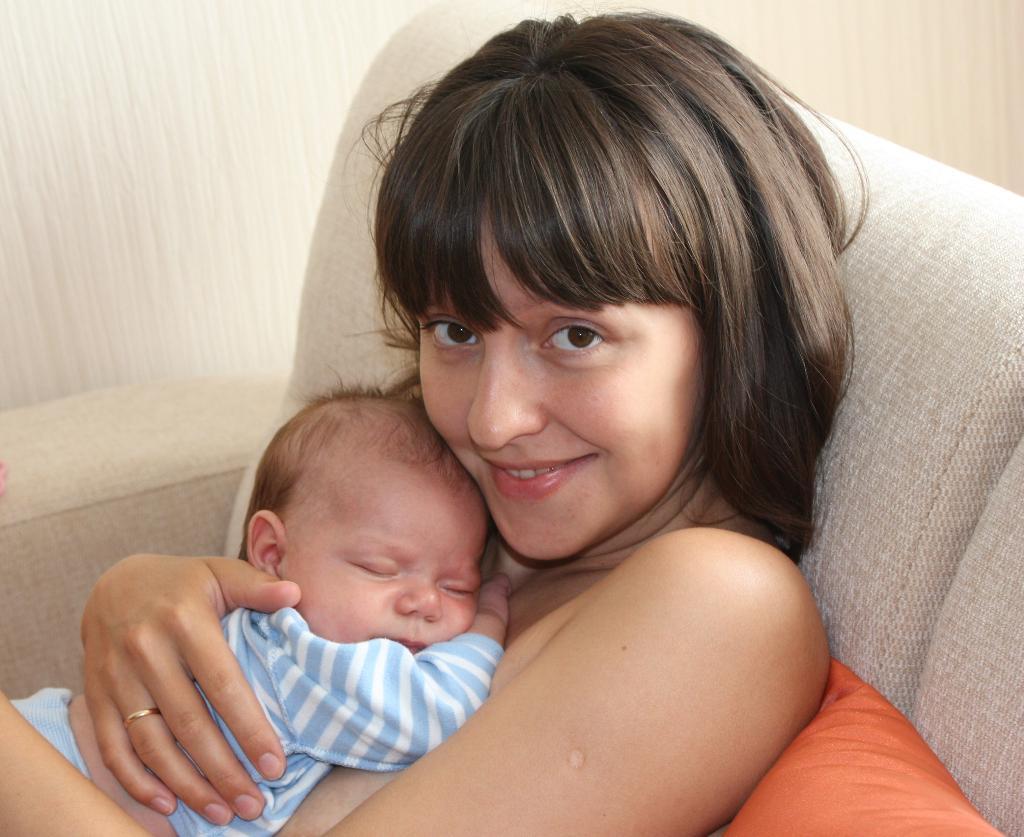 Это счастье. Мадонна с младенцем