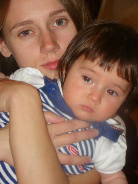 Я и малышка. Мадонна с младенцем