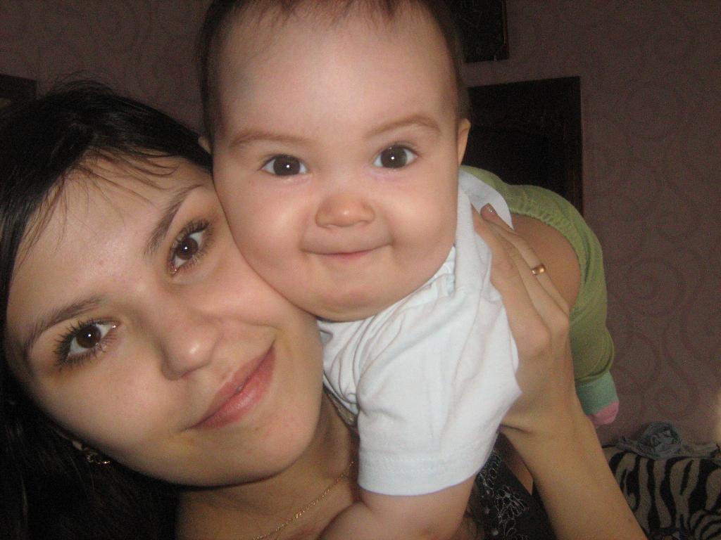 Счастье в моих руках!!!. Мадонна с младенцем