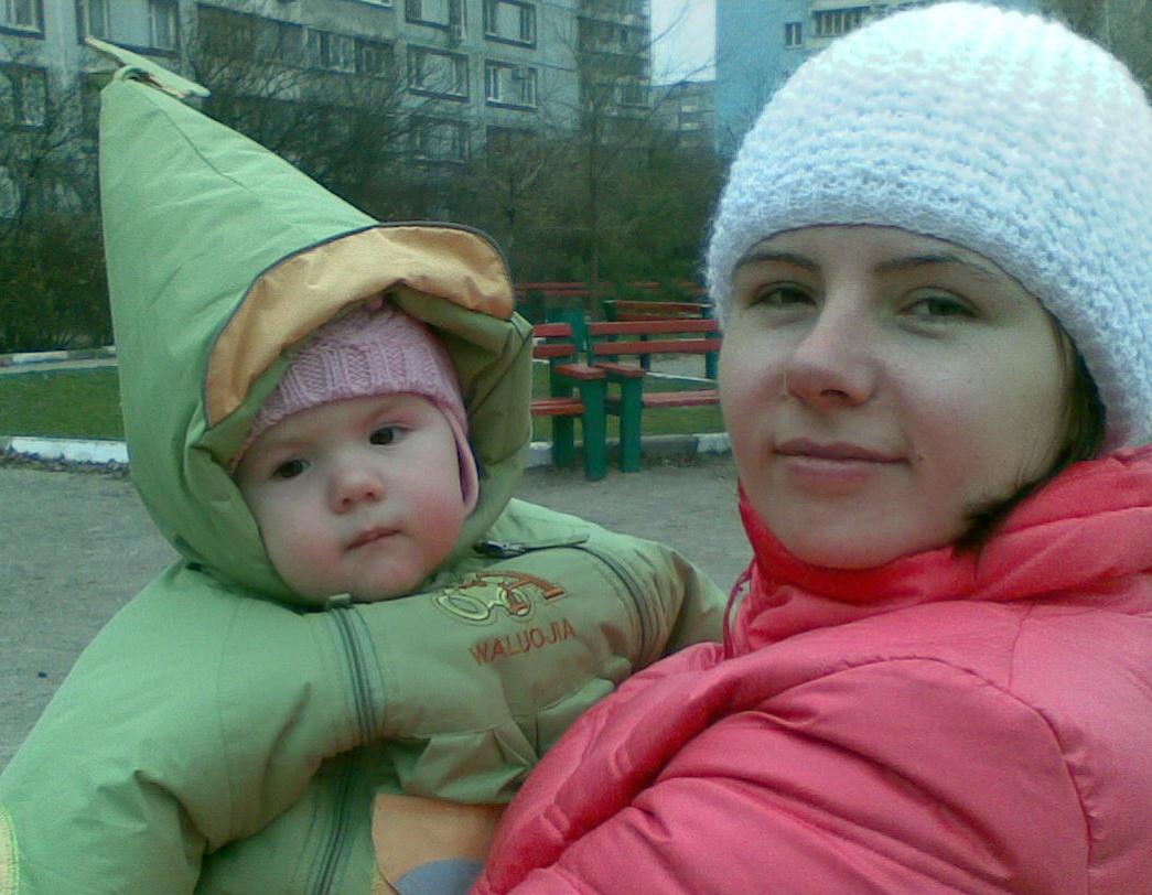 мой маленький гномик. Мадонна с младенцем