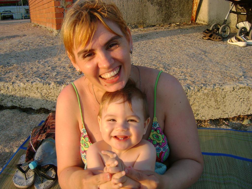Мой Мишутка. Закрытое голосование фотоконкурса 'Мадонна с младенцем'