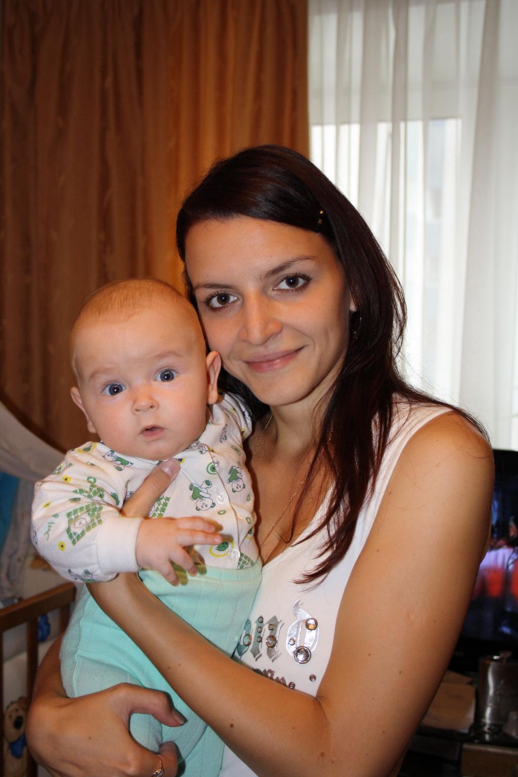 Я и мой любимый сынуля. Мадонна с младенцем