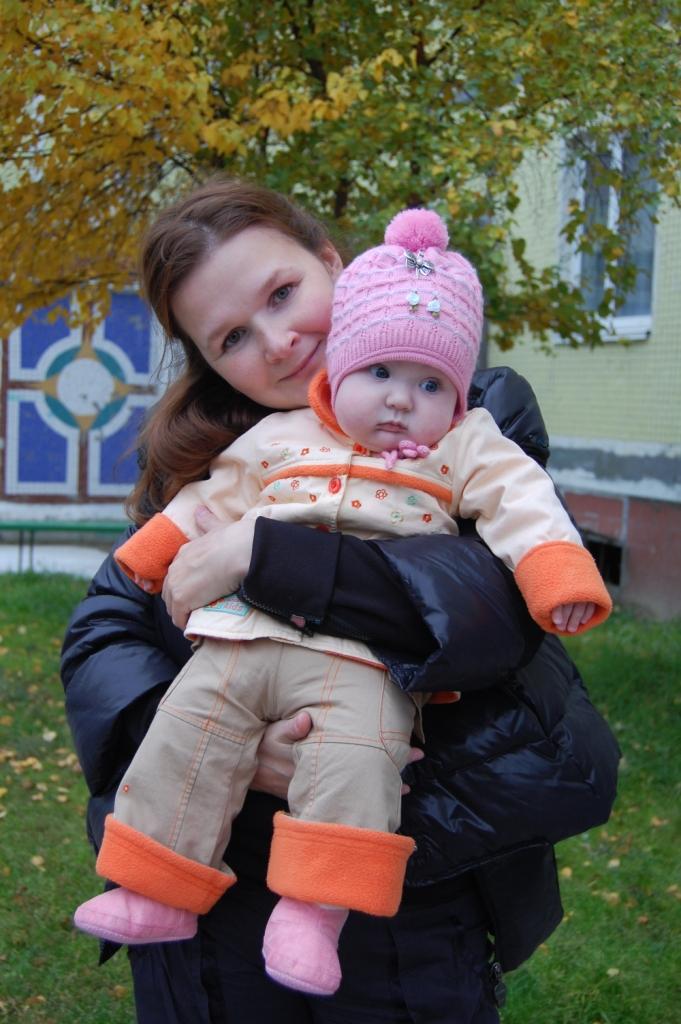 Когда ж я вырасту?.... Мадонна с младенцем
