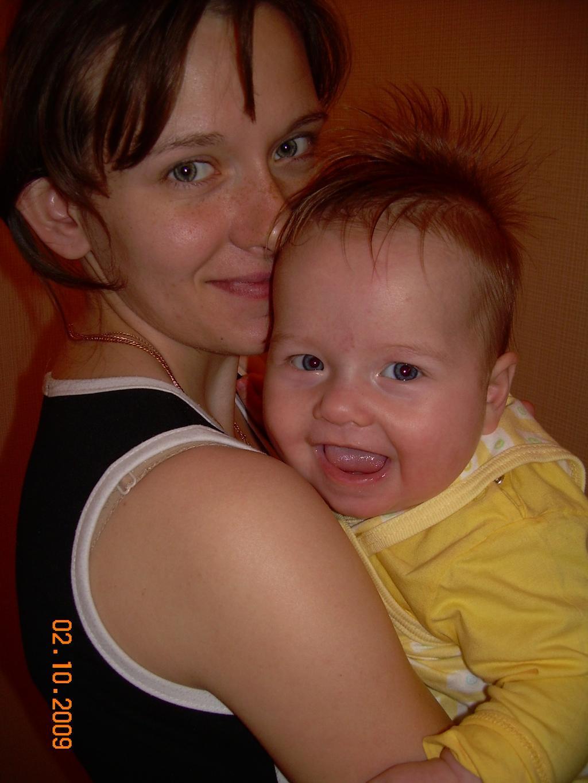 Мамин ежик. Мадонна с младенцем