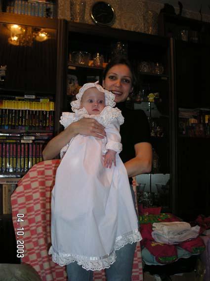 Крестины. Мадонна с младенцем
