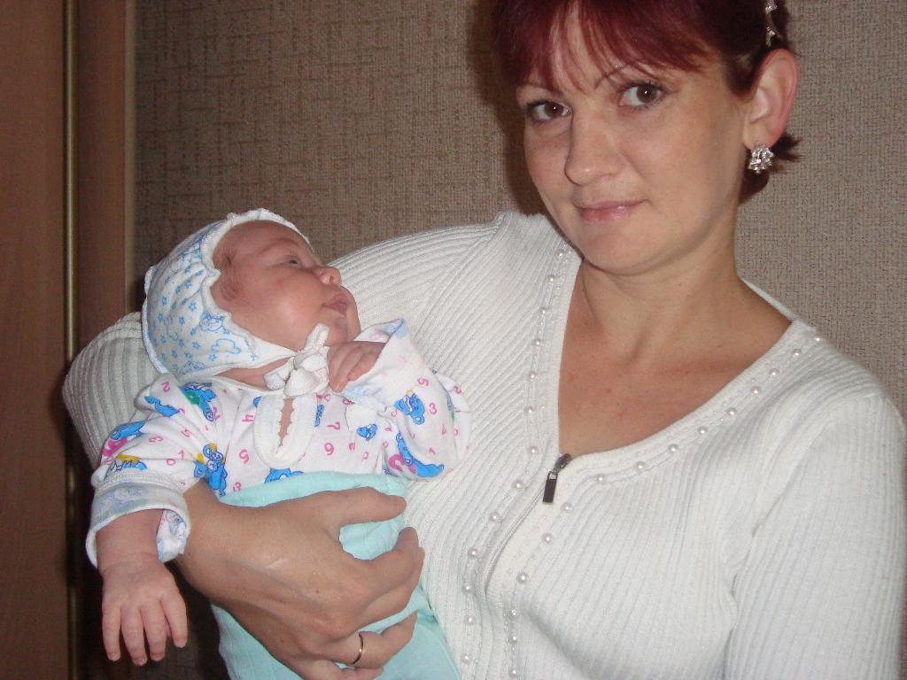 мое счастье!. Мадонна с младенцем