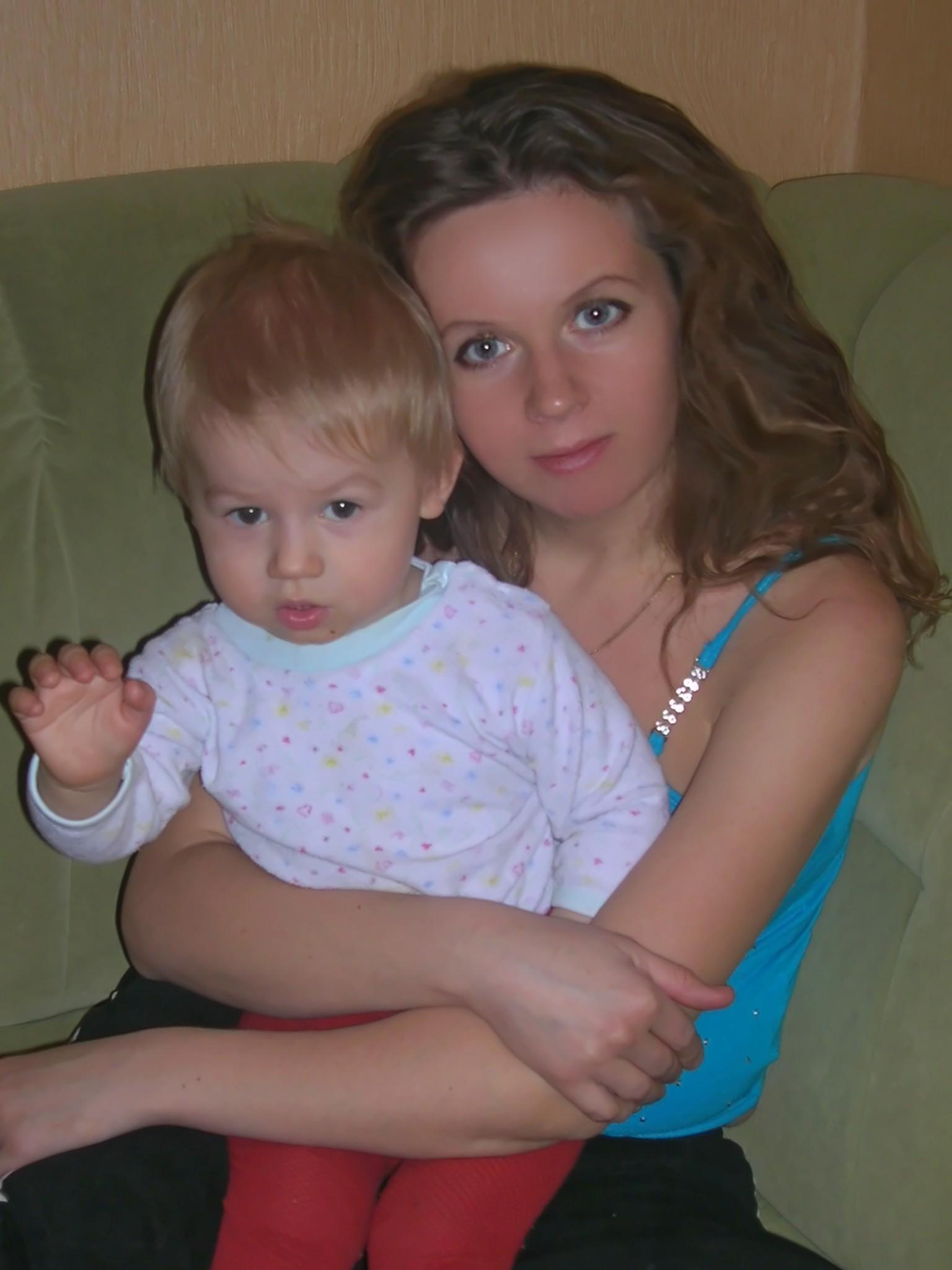 Мой самый первый.. Мадонна с младенцем