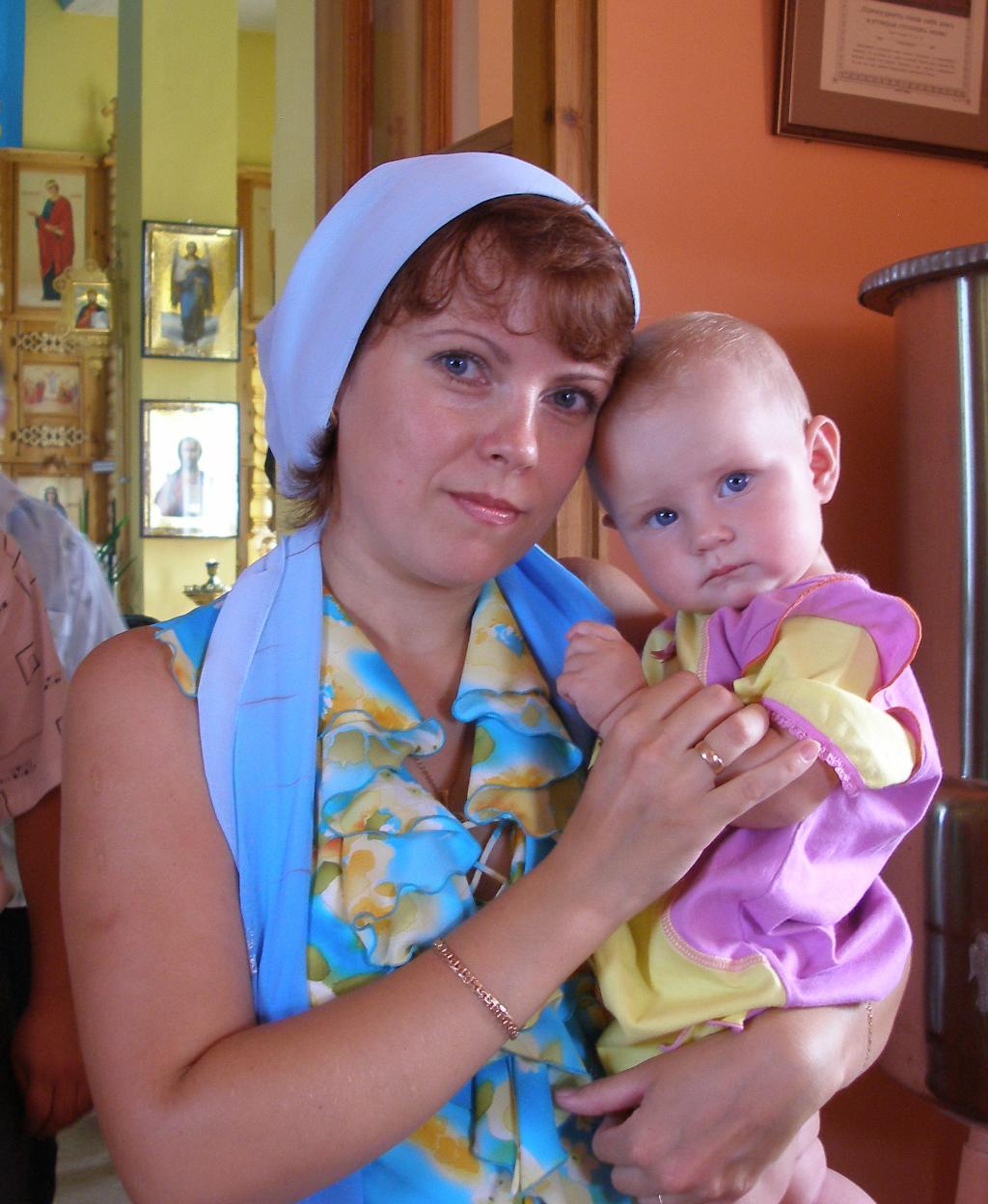 Божий дар. Мадонна с младенцем