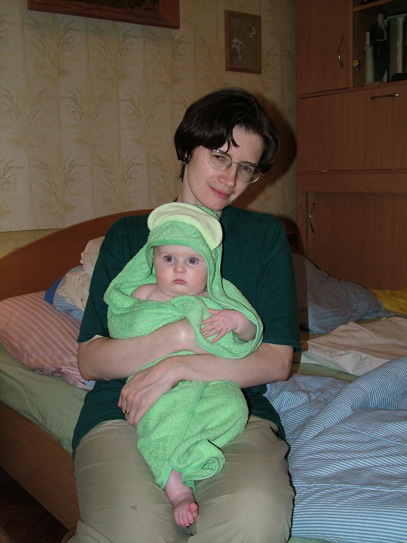 Царевна-лягушка. Мадонна с младенцем