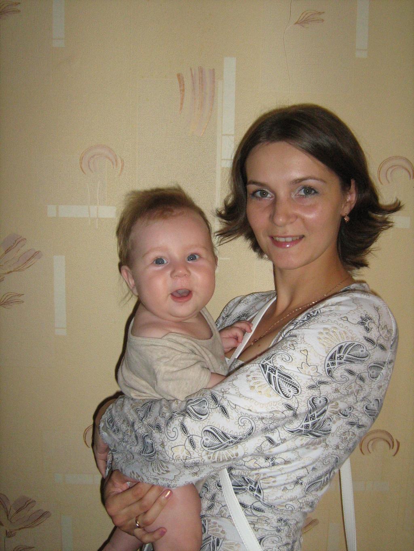 Мои 7 кило счастья!!!!. Мадонна с младенцем