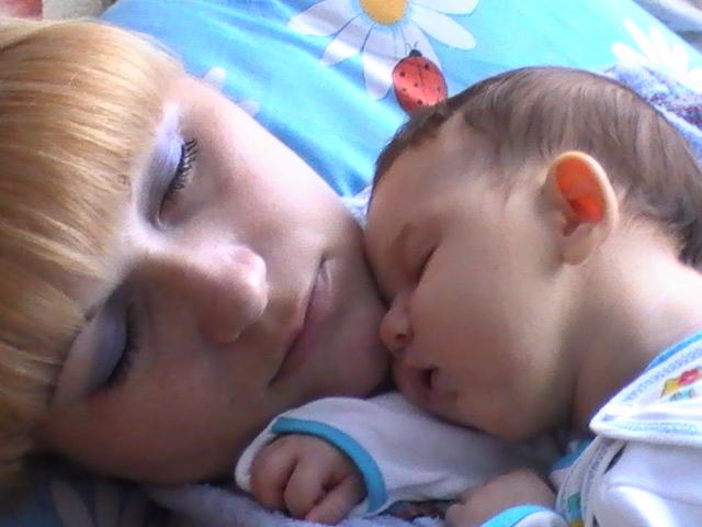 сонное царство. Мадонна с младенцем
