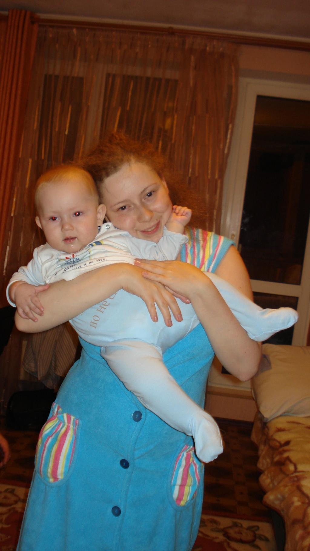 Мой карапуз. Мадонна с младенцем