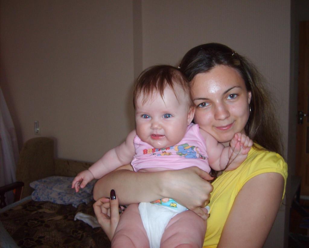 С Софией. Мадонна с младенцем