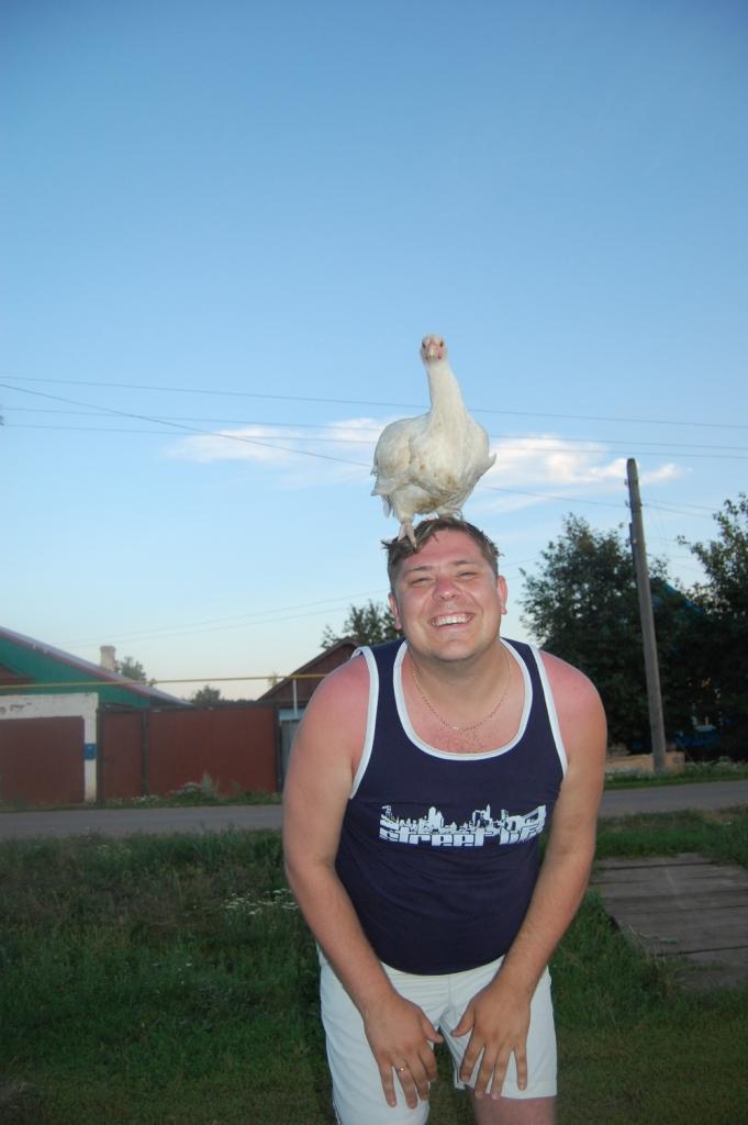 Яйца курицу не учат.... Наши меньшие друзья