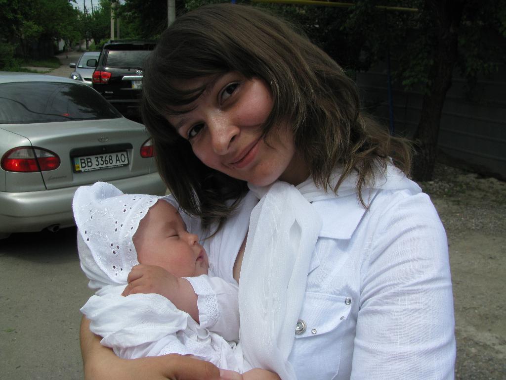 Самый сладкий сон.... Мадонна с младенцем