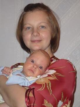 счастье . Мадонна с младенцем