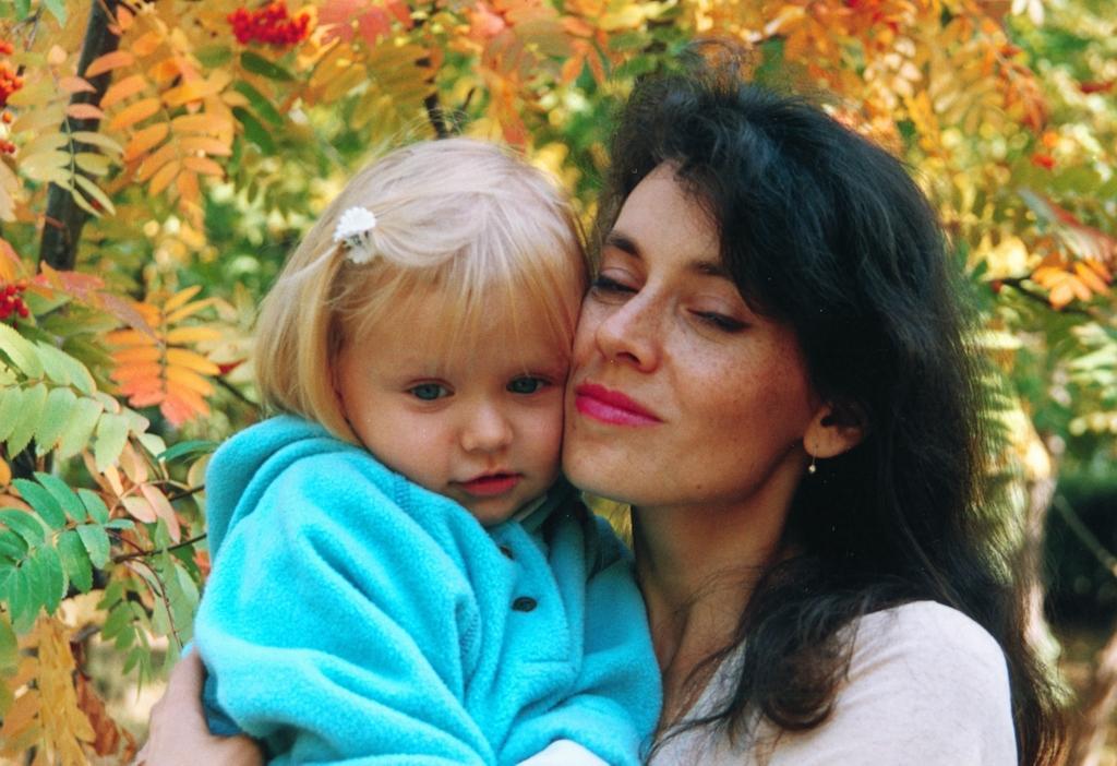 Мамина радость. Мадонна с младенцем