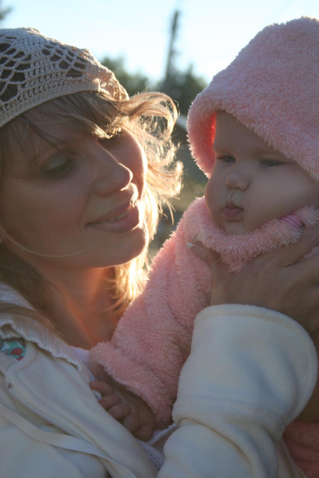 Моё счастье. Мадонна с младенцем