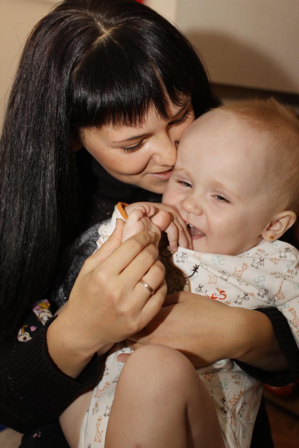 Мой сынуля. Мадонна с младенцем