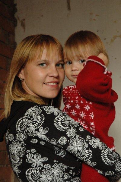 C Анечкой. Мадонна с младенцем