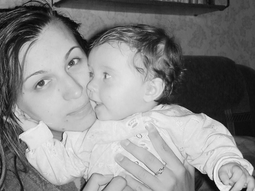 Я люблю тебя, мама!. Мадонна с младенцем