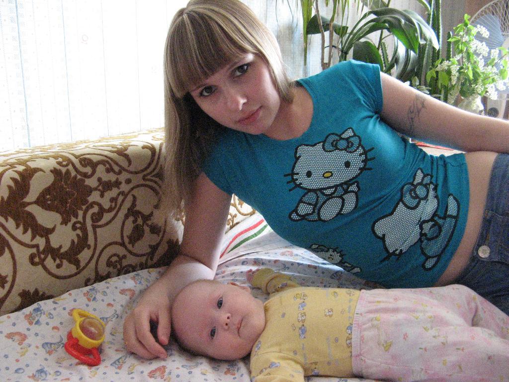 мой малыш. Мадонна с младенцем