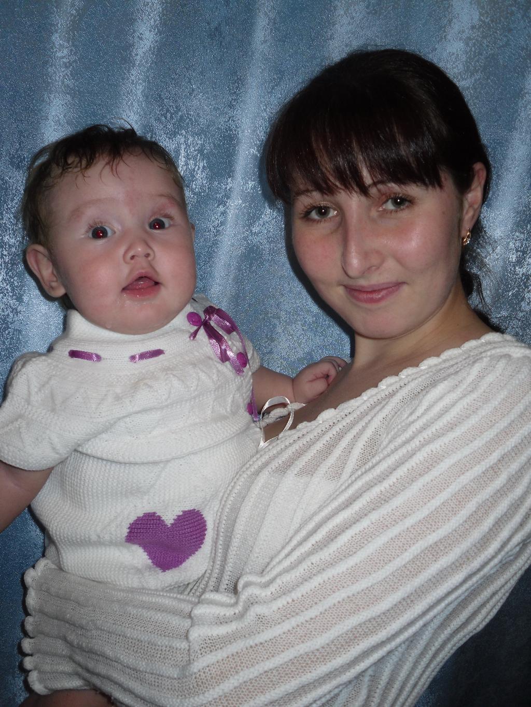 Счастье на руках!. Мадонна с младенцем