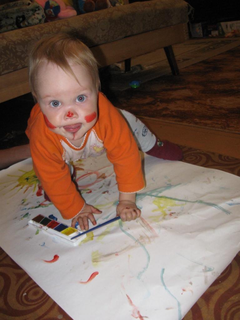 Боевая раскраска. Я рисую