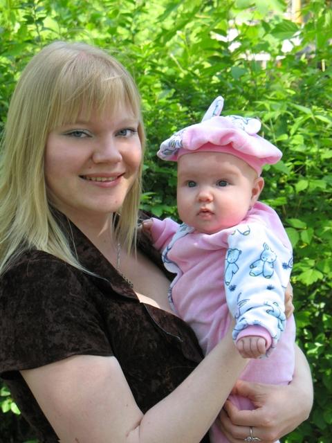 Мама с малышкой. Мадонна с младенцем