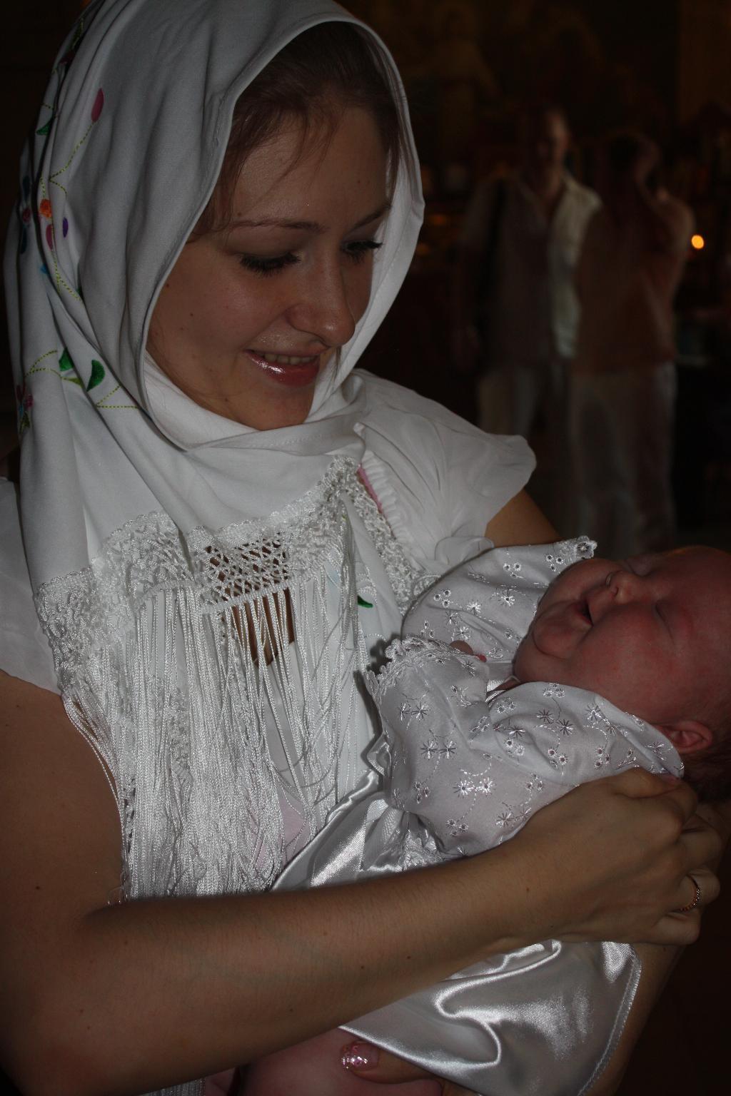 Вот оно - настоящее счастье!. Мадонна с младенцем