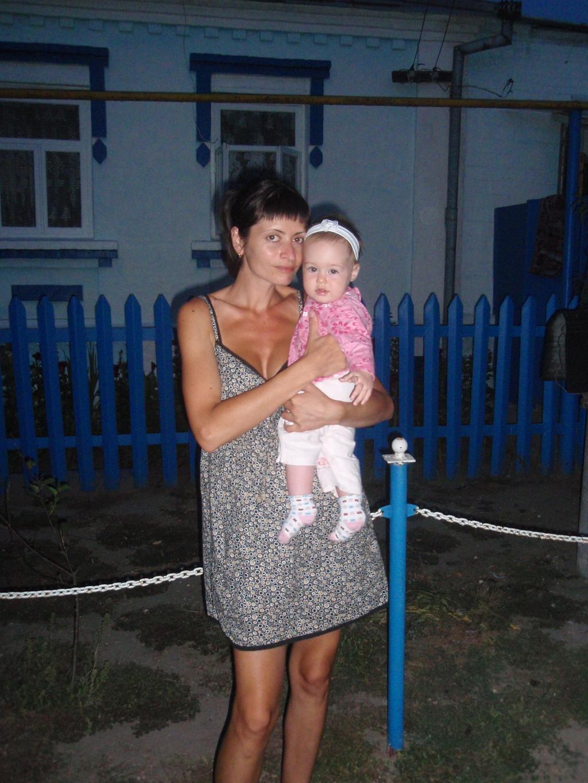 лето в деревне. Мадонна с младенцем