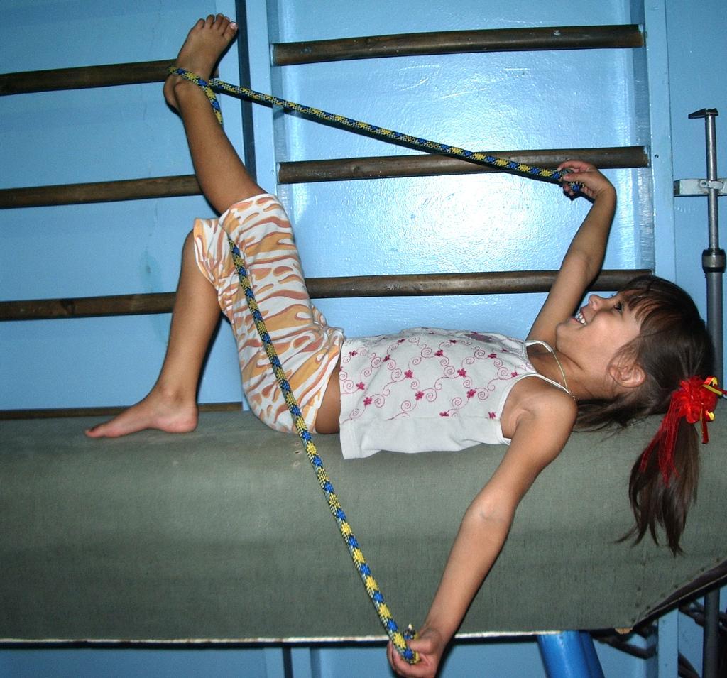 Гимнастика.. Моя тренировка
