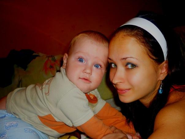 Любовь моя. Мадонна с младенцем