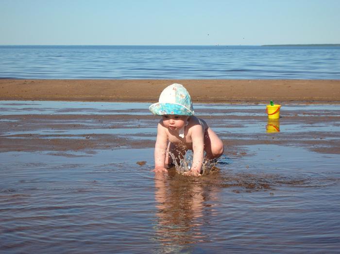 Первый выход в большое плаванье!. Мое первое лето