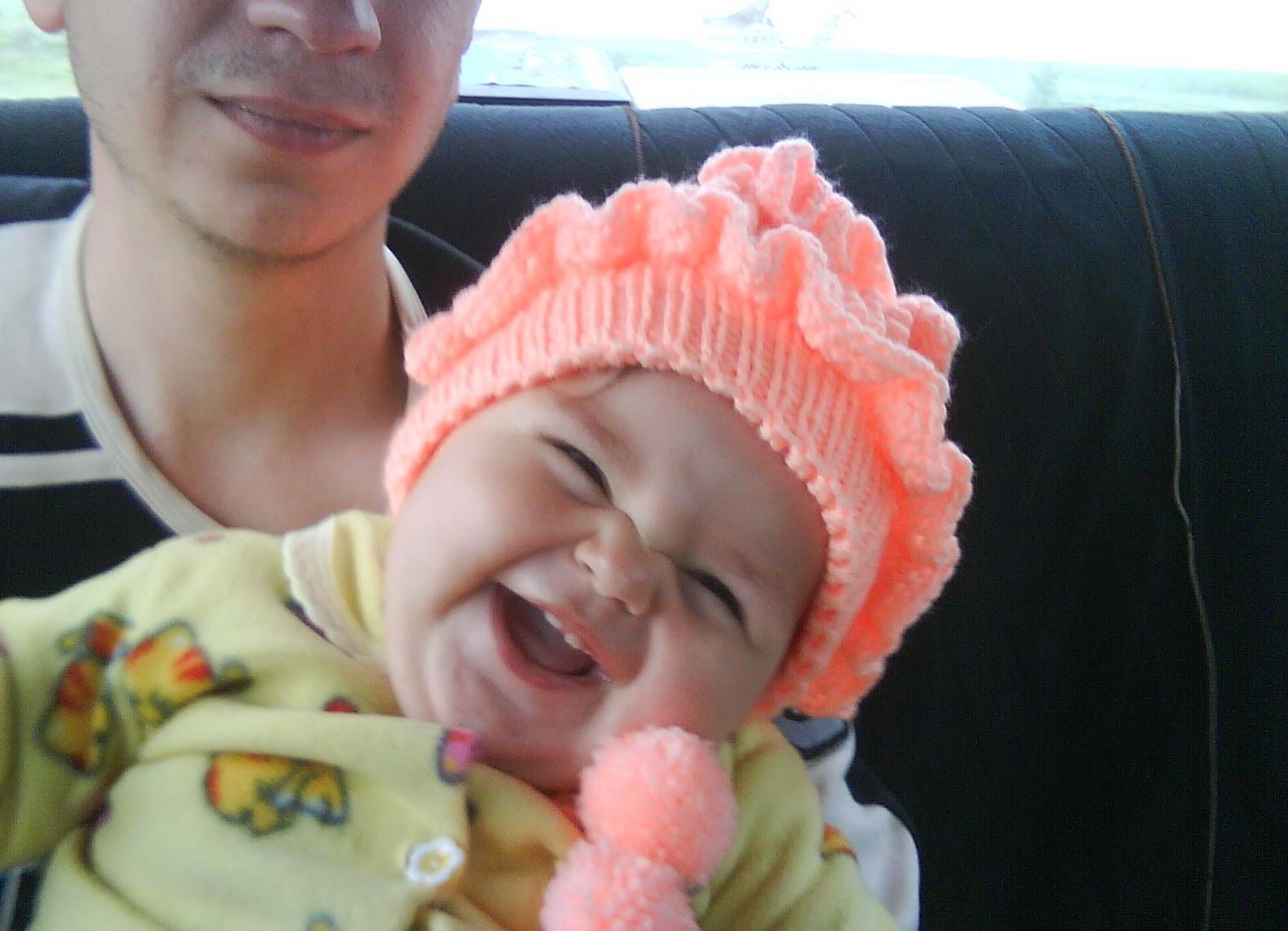 Очаровательная улыбочка!!! :). Мои первые зубки