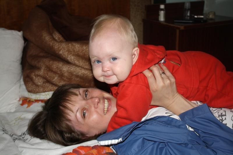 Счастье мое. Мадонна с младенцем
