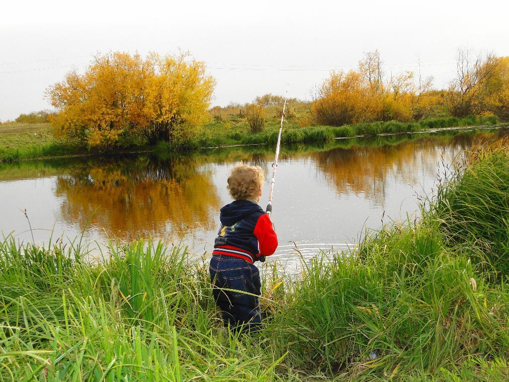 Ловись рыбка.... Закрытое голосование фотоконкурса 'Осенняя прогулка'