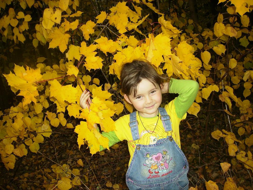 Мисс Осень 2010. Осенняя прогулка
