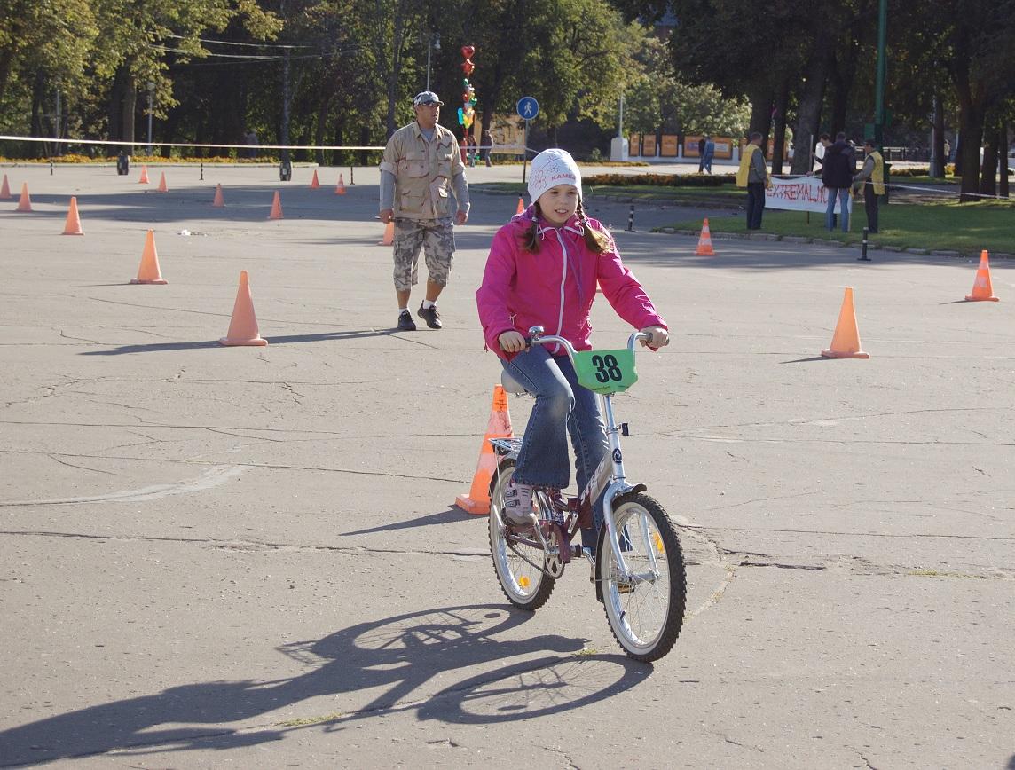 вперед к победе! . Закрытое голосование фотоконкурса 'Укрощение велосипеда'
