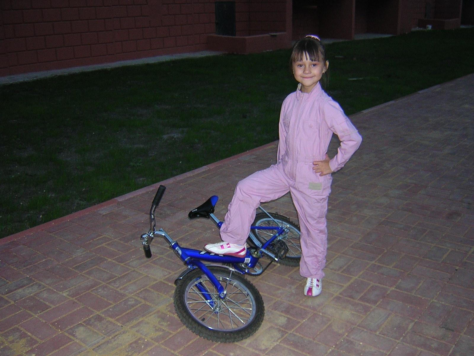 Я его сделала!!!!!. Укрощение велосипеда