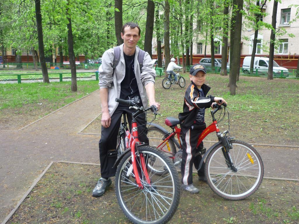 Нам машина не нужна!!!. Укрощение велосипеда