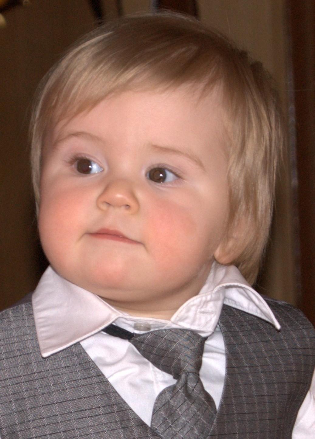 Михаил Дмитриевич, 1 год. Малыш на обложку