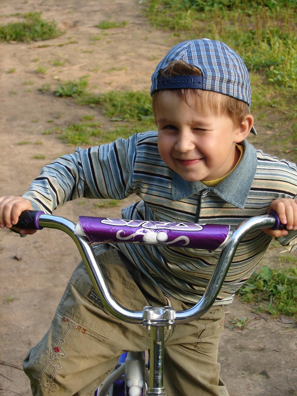 Попробуй догони!. Укрощение велосипеда