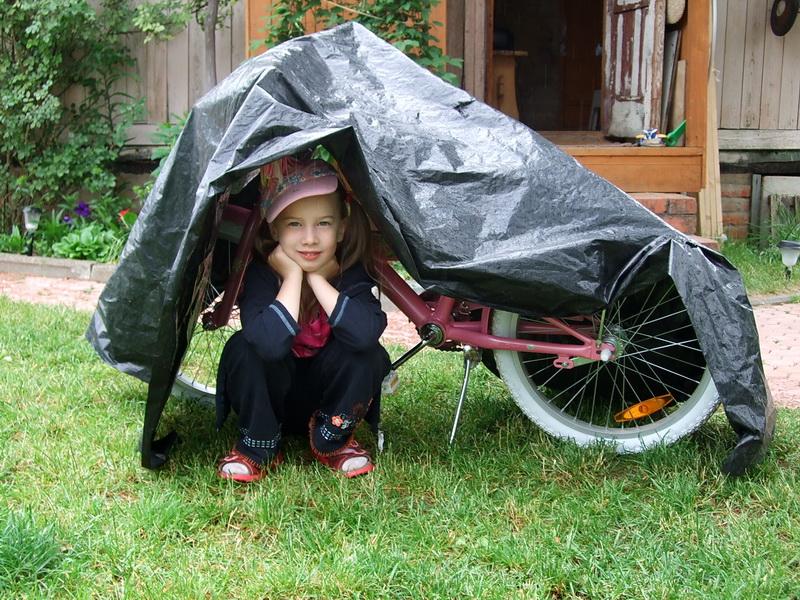 Все равно тебя не брошу.... Укрощение велосипеда