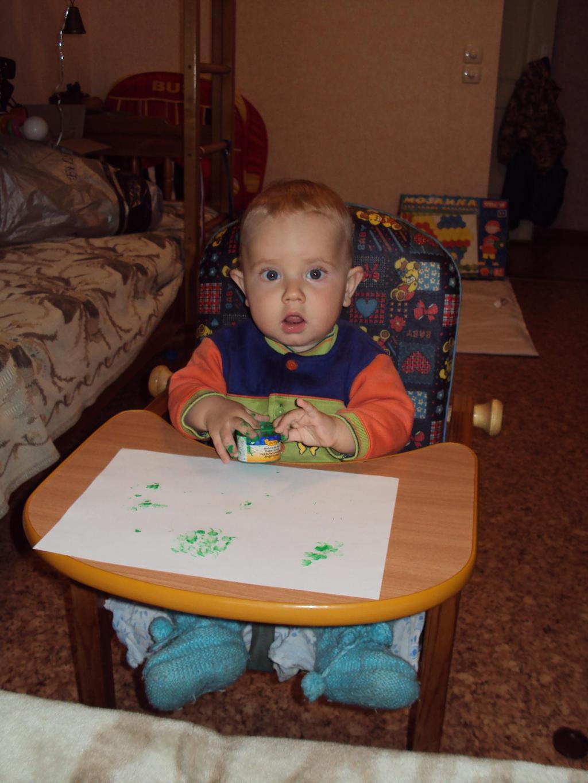 Юный художник. Я рисую
