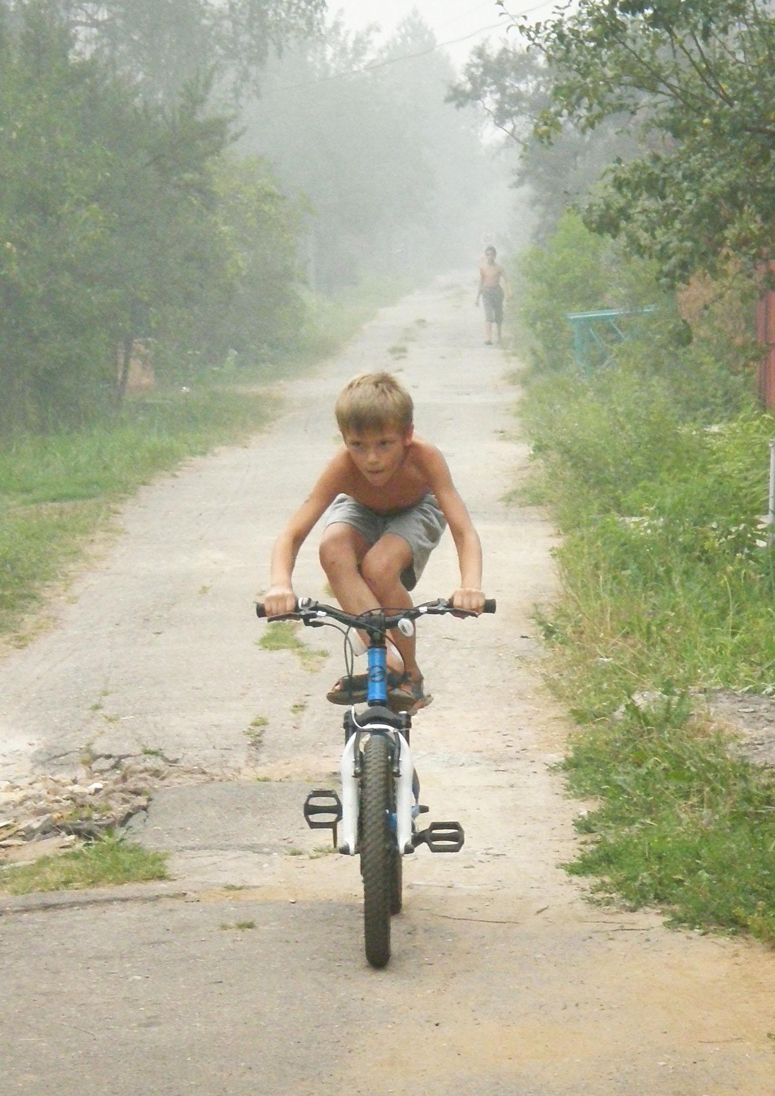 На холку ему прыгай!. Укрощение велосипеда