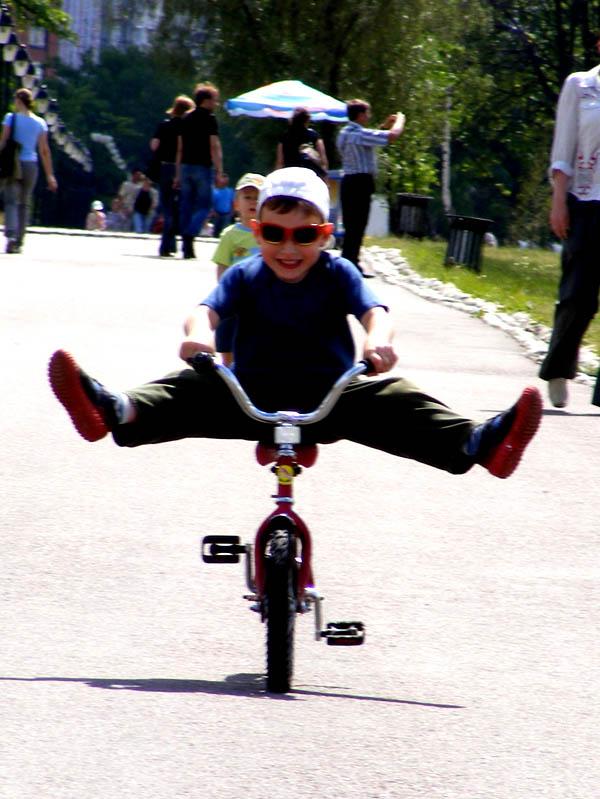 Ха! Да я еще и не так могу!. Закрытое голосование фотоконкурса 'Укрощение велосипеда'