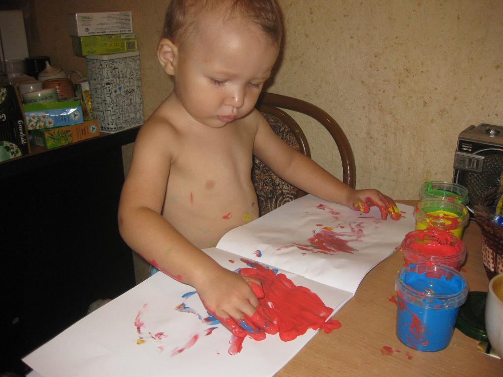 юный Пикассо. Я рисую