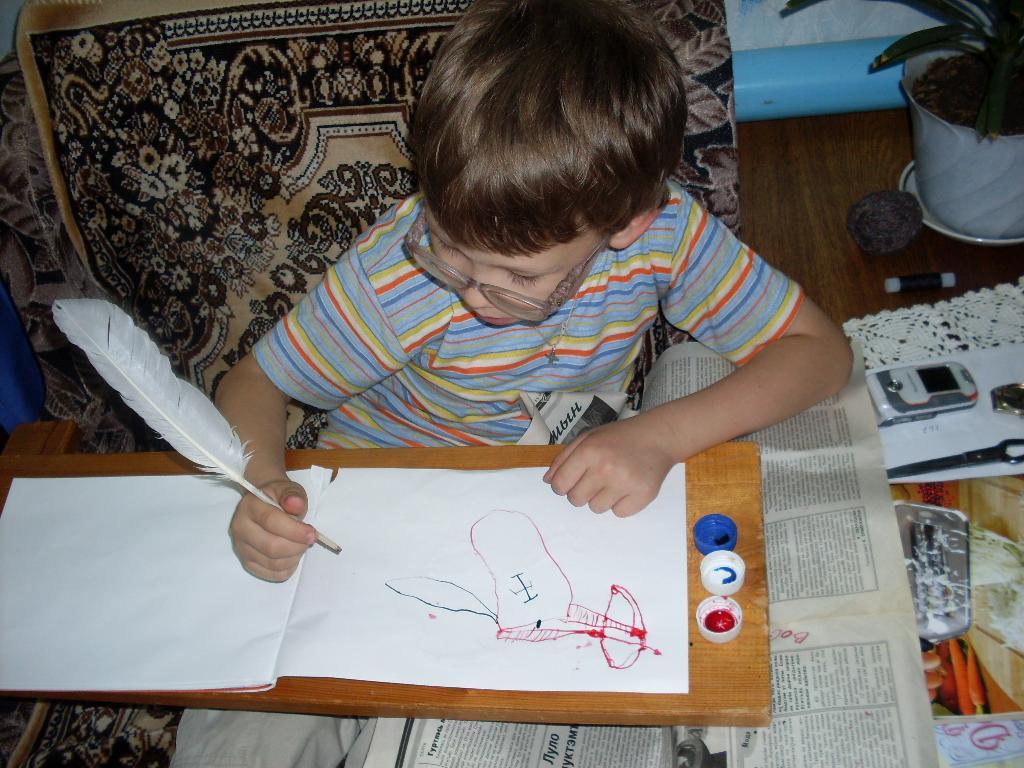Что нарисовано пером.... Я рисую