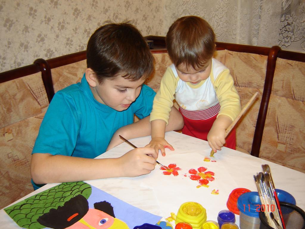Смотри, как надо рисовать!. Закрытое голосование фотоконкурса 'Я рисую'
